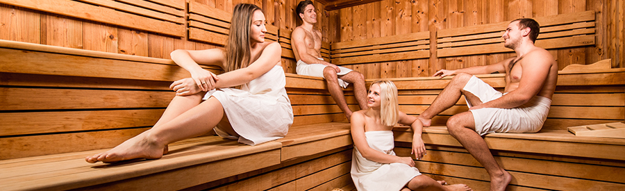 Sauna and steam rooms